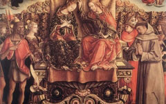 Carlo Crivelli's Crowning of the Virgin