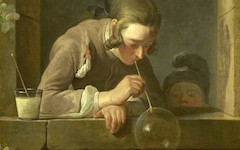 Chardin's The Soap Bubble (c.1733-4)