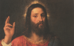 Titian's Christ Blessing (c.1560)