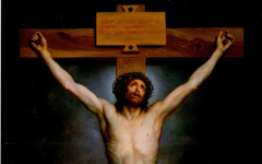 Mengs' Christ on the Cross (1761-9), Goya's and Francis Bacon's too