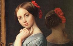 Ingres' Comtesse d'Haussonville (1845)