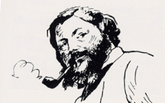 Manet's Portrait of Courbet