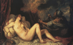 Titian's Danae (all versions)