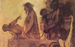 Daumier's Ecce Homo (c.1849-52)