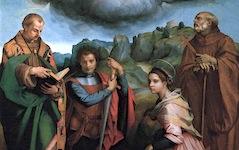 Andrea Del Sarto's Madonna in Gloria (1530)