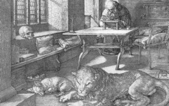 Dürer's St. Jerome in his Study (1514)