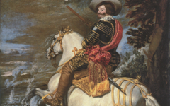 Velazquez's Count-Duke Olivares on Horseback (c.1635-6)