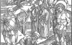 Dürer's Martyrdom of St. Sebastian