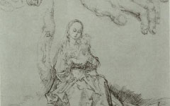 Dürer's Virgin and Child (c.1491)