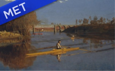Eakins' The Champion Single Sculls (1871)