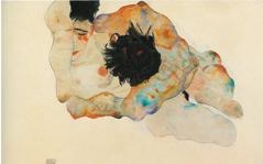 Schiele's Embrace (1912)