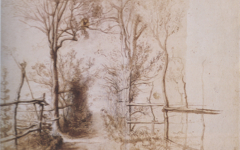 Rubens' Forest Path (n.d.), a drawing