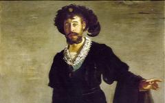 Manet's Faure as Hamlet (1877)