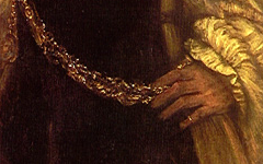 Rembrandt and the Artist's Gold Chain