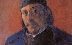 Gauguin's Self-portrait with a Palette (c.1893-4)