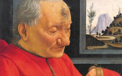 Ghirlandaio's Portrait of an Old Man and Child (c.1490)