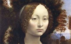 Leonardo's Portrait of Ginevra de' Benci (c.1474-8)