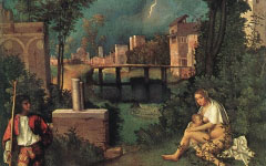 Giorgione's Tempesta (c.1506-8)