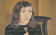 Lucian Freud's Girl with Roses (1947-8)