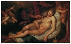 Goltzius' Sleeping Danae… (1603)