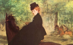 Manet's The Horsewoman (1875)