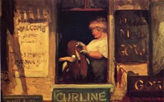 John Sloan's Hairdresser's Window (1907)