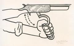 Lichtenstein's Hand Loading Gun (1961)