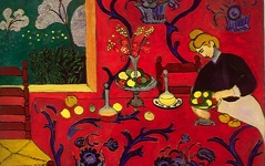 Matisse's Harmony in Red (1908)