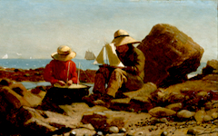 Homer's The Boat Builders (1873)