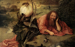 Bosch's St. John in the Wilderness (1504-5)