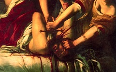 Artemisia Gentileschi's Judith and Her Maidservant Slaying Holofernes