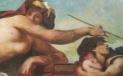 Delacroix's Justice in Palais Bourbon (1833-7)