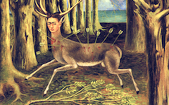 Kahlo's The Wounded Deer (1946)