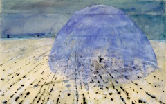 Anselm Kiefer's Everyone Stands Under His Own Dome of Heaven (1970)