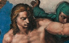 Michelangelo's St. Sebastian in The Last Judgment