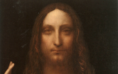 Leonardo's Christ as Salvator Mundi (c. 1499)