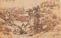 Leonardo's Landscape (1473)