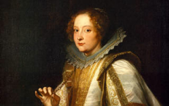 Van Dyck's Marchesa Cattaneo (c.1622-7) at The Frick