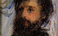 Renoir's Portrait of Monet (1875)
