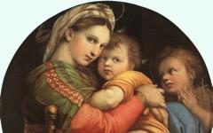 Raphael's Madonna della Sedia (1513-14)