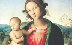 Perugino's Madonna and Child (n.d.) and Mary Magdalene (1500)