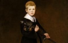 Manet's Boy with a Sword (1861)