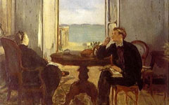 Manet's Interior at Arachon (1871)