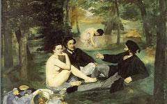 Manet's  Le Dejeuner sur l'Herbe (1863)