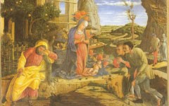 Mantegna's Adoration of the Shepherds (c.1450-51)