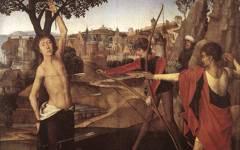 Memling's Martyrdom of St. Sebastian (c.1475)