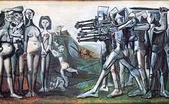 Picasso's Ps and Massacre in Korea (1951)