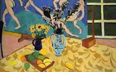 Matisse's Still-Life with Dance (1909)