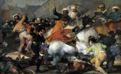 Goya's 2nd May, 1808 (1814)