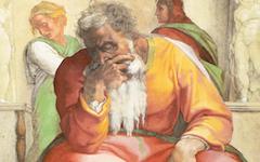 Michelangelo's Sistine Ceiling: Jeremiah (c.1509-10)